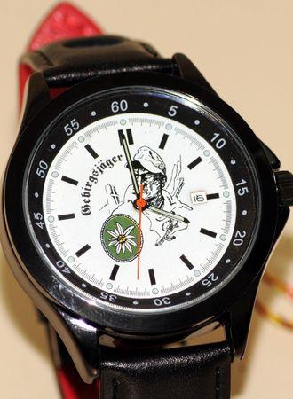 Gebirgsjäger IMC Formula schwarz Armbanduhr Uhr günstig neu OVP Sonderedition – Bild 1