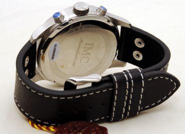 IMC® Fliegeruhr Phantom Chronograph Armbanduhr Kampfflugzeug Herren Männer Uhr – Bild 5