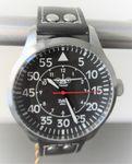 IMC Fliegeruhr C-160 Transall silber Armbanduhr Flugzeug Herren Männer Uhr 001