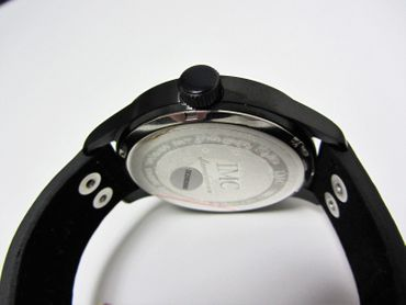 IMC® Fliegeruhr C-160 Transall schwarz Armbanduhr Flugzeug Herren Männer Uhr – Bild 5