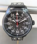 IMC® Fliegeruhr C-160 Transall schwarz Armbanduhr Flugzeug Herren Männer Uhr