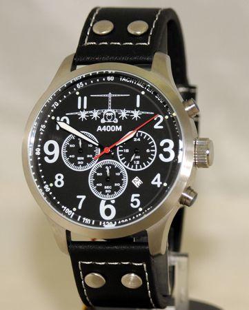 IMC Fliegeruhr A400M Chronograph Armbanduhr Transportflugzeug Herren Männer Uhr