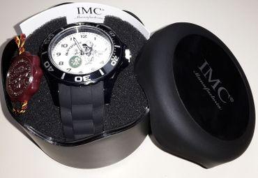 Gebirgsjäger IMC Silco schwarz Armbanduhr Uhr günstig neu OVP Sonderedition – Bild 2