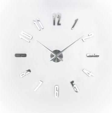 IMC Rahmenlose 3D Wanduhr Uhr Modern Wandtattoo Aufkleber Büro Deko günstig DIY – Bild 1