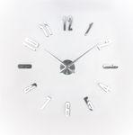 IMC Rahmenlose 3D Wanduhr Uhr Modern Wandtattoo Aufkleber Büro Deko günstig DIY 001