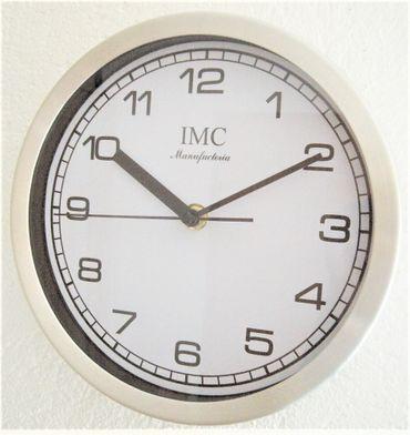 Wanduhr Uhr Bigtime Ziffernblatt weiß modern Arbeitszimmer Geschenk günstig K – Bild 1