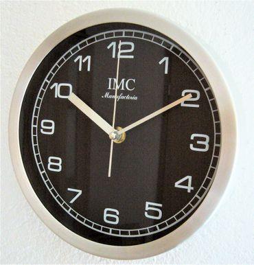Wanduhr Uhr Bigtime Ziffernblatt schwarz modern Büro Geschenk günstig K – Bild 1