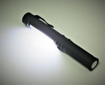 LED Taschenlampe COB Stiftleuchte Lampe Licht Inspektion Magnet Worklight Pen – Bild 4