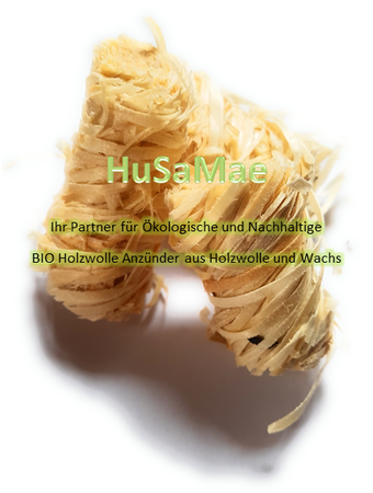 10 Kg HuSaMae Bio Anzünder aus Holzwolle und Wachs – Bild 1