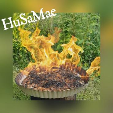1.000 Gramm HuSaMae Ökologisches Holzwolle Feuergranulat – Bild 4