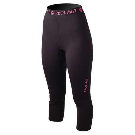 Prolimit - SUP Neo 3/4 Leg Pants  Neoprenshorts black/pink (Damen) – Bild 1
