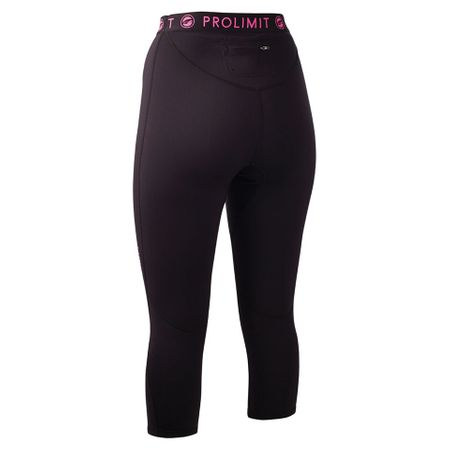 Prolimit - SUP Neo 3/4 Leg Pants  Neoprenshorts black/pink (Damen) – Bild 2
