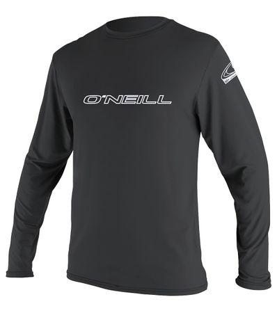 O'Neill - Basic Skin L/S Rash Tee Lycra / Rashguard black - UV-Shirt – Bild 1