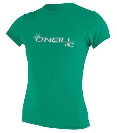 O'Neill - Basic Skins S/S  Rashguard (Damen) - seaglass - UV Shirt – Bild 1