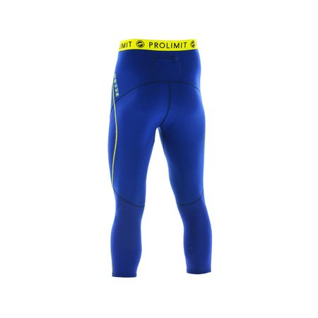 Prolimit - SUP Neo 3/4 Leg Pants 1mm Airmax blue/yellow (Herren) – Bild 2