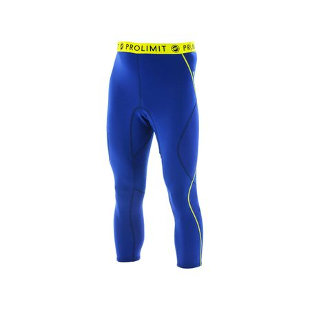 Prolimit - SUP Neo 3/4 Leg Pants 1mm Airmax blue/yellow (Herren)