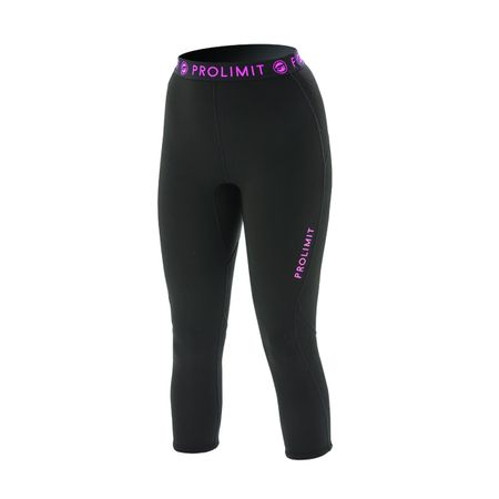 Prolimit - SUP Neo 3/4 Leg Pants 1mm Airmax black/pink (Damen) – Bild 1