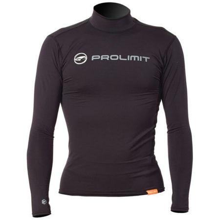 Prolimit - Rashguard Logo (langarm) slate black - UV Shirt