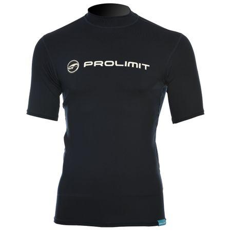 Prolimit - Rashguard Logo (kurzarm) slate black- UV Shirt – Bild 1