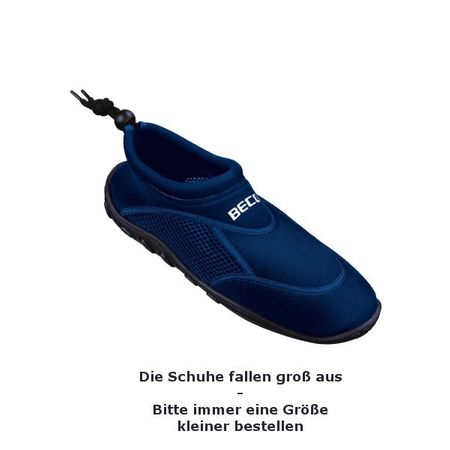 BECO - Neoprenschuhe Schwimmschuhe Surfschuhe Badeschuhe Wasserschuhe – Bild 3