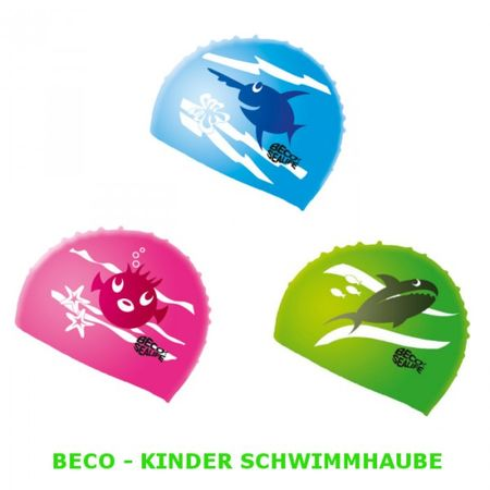 BECO - Kinder Schwimmhaube Badekappe -SeaLife-