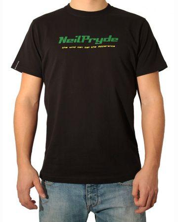 NeilPryde - Logo Tee (factory black) - T-Shirt