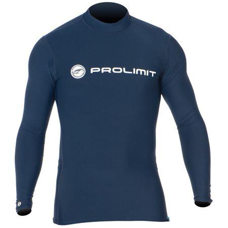 Prolimit - Rashguard/Lycra Logo (langarm) dark blue – Bild 1