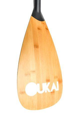 OUKAI - Bamboo Edition 2017 - SUP Paddel Vario 175-220cm  (2teilig) – Bild 2