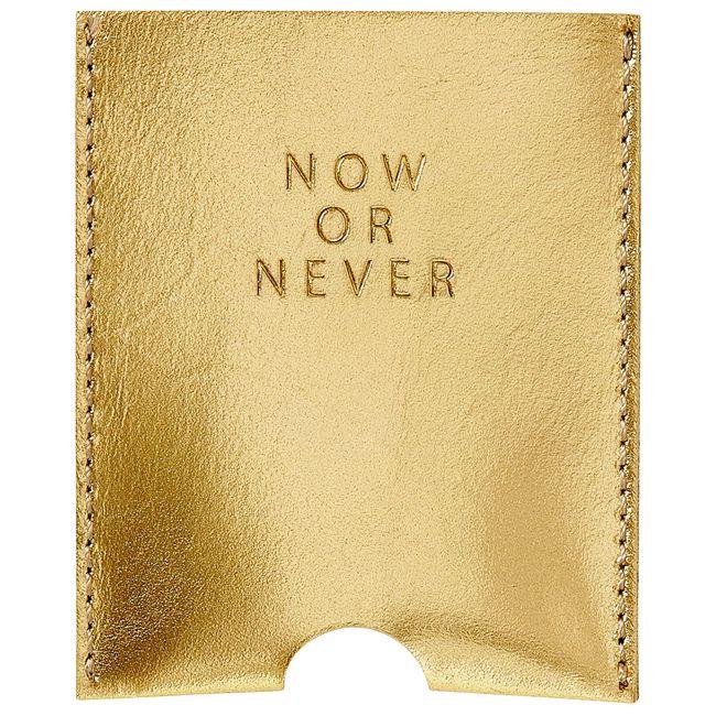 "Kartenetui ""Now or never"""
