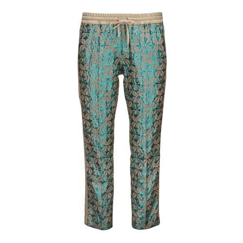 Cropped Jaquard Pants 24012