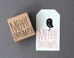 "Stempel ""Merry Christmas"" 001"