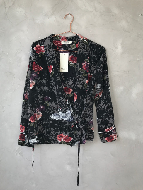 Wickelbluse DL17246