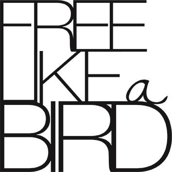 """Kleine Wandpoesie """"Free like a bird"""""""