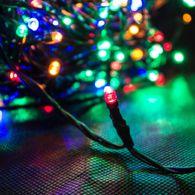 200er LED Lichterkette multicolor Farblichterkette Weihnachten