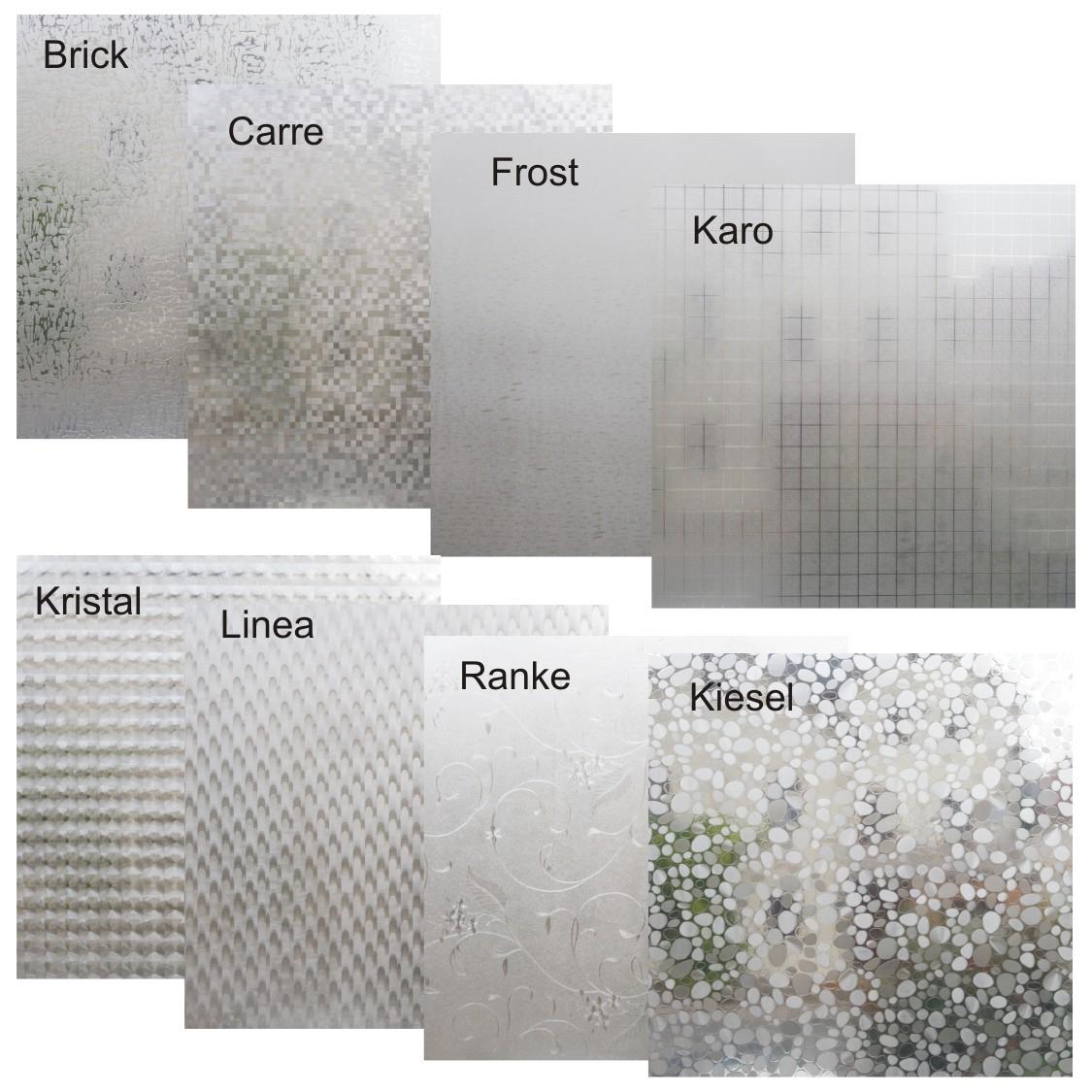 Badezimmer Fensterfolie, fensterfolie varianten 150x45cm sichtschutzfolie statische folie, Design ideen