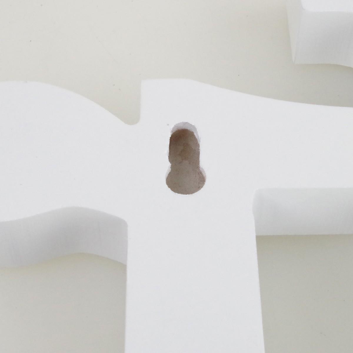 wanddeko deko schriftzug mr weiss 30 5x16 8x2cm 3d optik shabby chic tischdeko. Black Bedroom Furniture Sets. Home Design Ideas