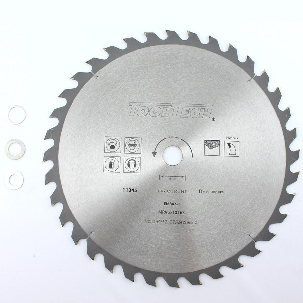 hm sägeblatt kreissägeblatt 400x30mmx36t für holz kunststoff