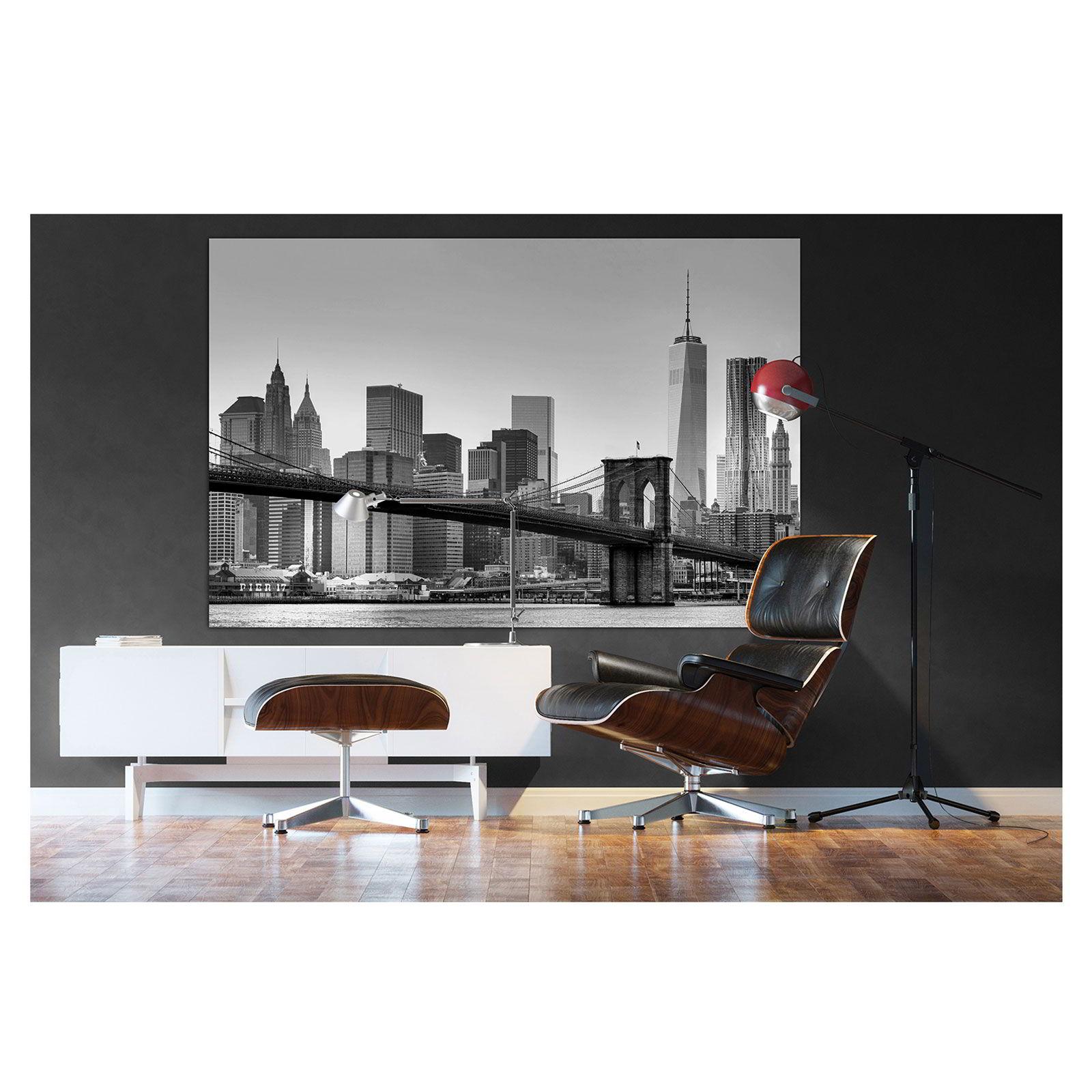 wandposter xxl new york poster bild motiv 175x115cm. Black Bedroom Furniture Sets. Home Design Ideas
