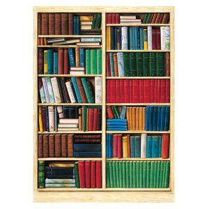 Tapete Bibliothéque Fototapete 4-teilig 183x254cm Bildtapete
