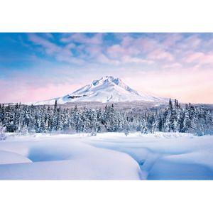 Mountain Graceful Fototapete 8-teilig Tapete 366x254cm Bildtapete