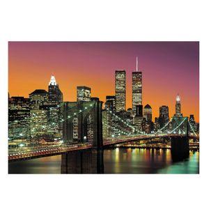 Vlies Fototapete New York City 8-teilig Tapete 366x254cm Bildtapete