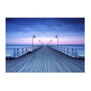 Vlies Fototapete Pier at the Seaside 8-teilig Tapete 366x254cm Bildtapete
