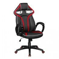 Bürostuhl GameStar schwarz-rot Kunstleder Gaming Stuhl Racing Optik Drehstuhl