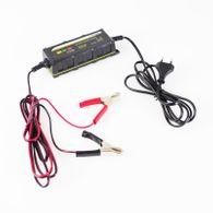 Batterieladegerät 6/12V 1A Ladegerät KFZ Motorrad 5Stufen Batterielader Batterie