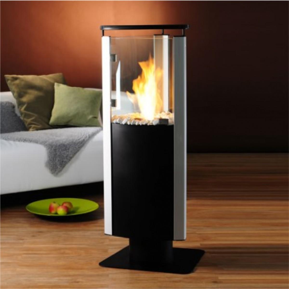 kamin kemi gelkamin bioethanol standkamin anthrazit. Black Bedroom Furniture Sets. Home Design Ideas