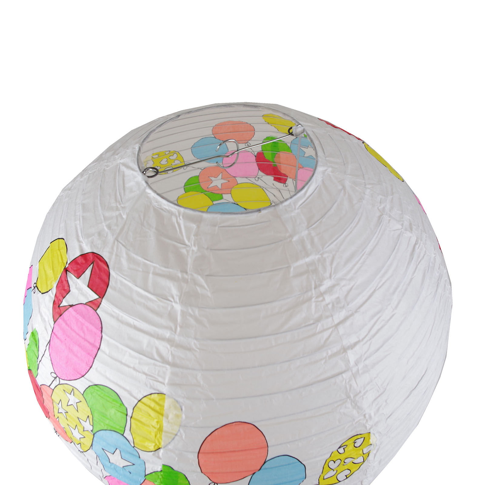 Papierlampe kinderzimmer papierleuchte kinder leuchte h ngeleuchte lampion - Lampions kinderzimmer ...
