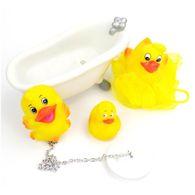 Badeente Set Badetiere Badefiguren Ente Badewanne Badespielzeug Stöpsel