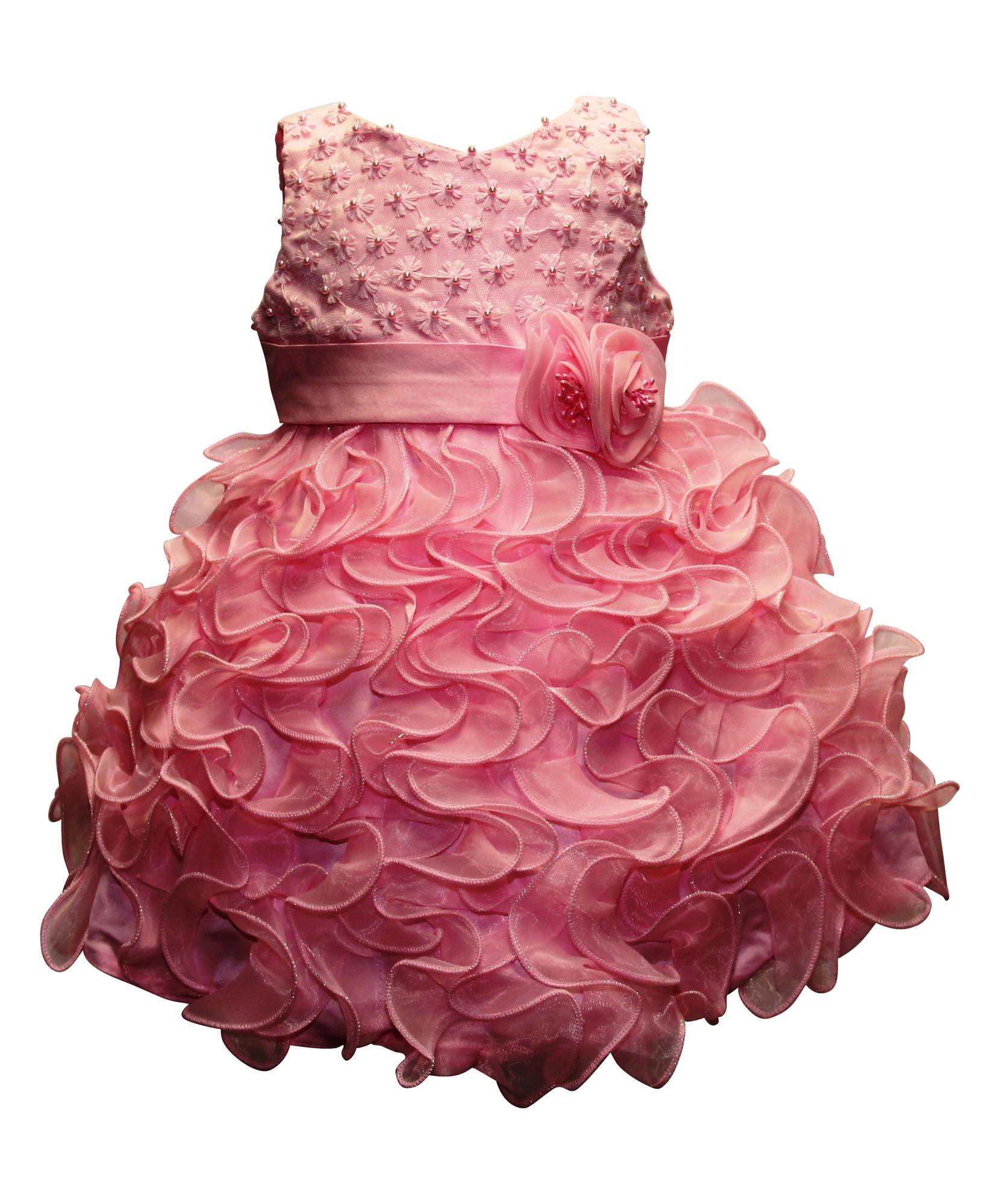 Bimaro Madchen Kleid Sophia Rosa Pink Festkleid Blumenmadchenkleid