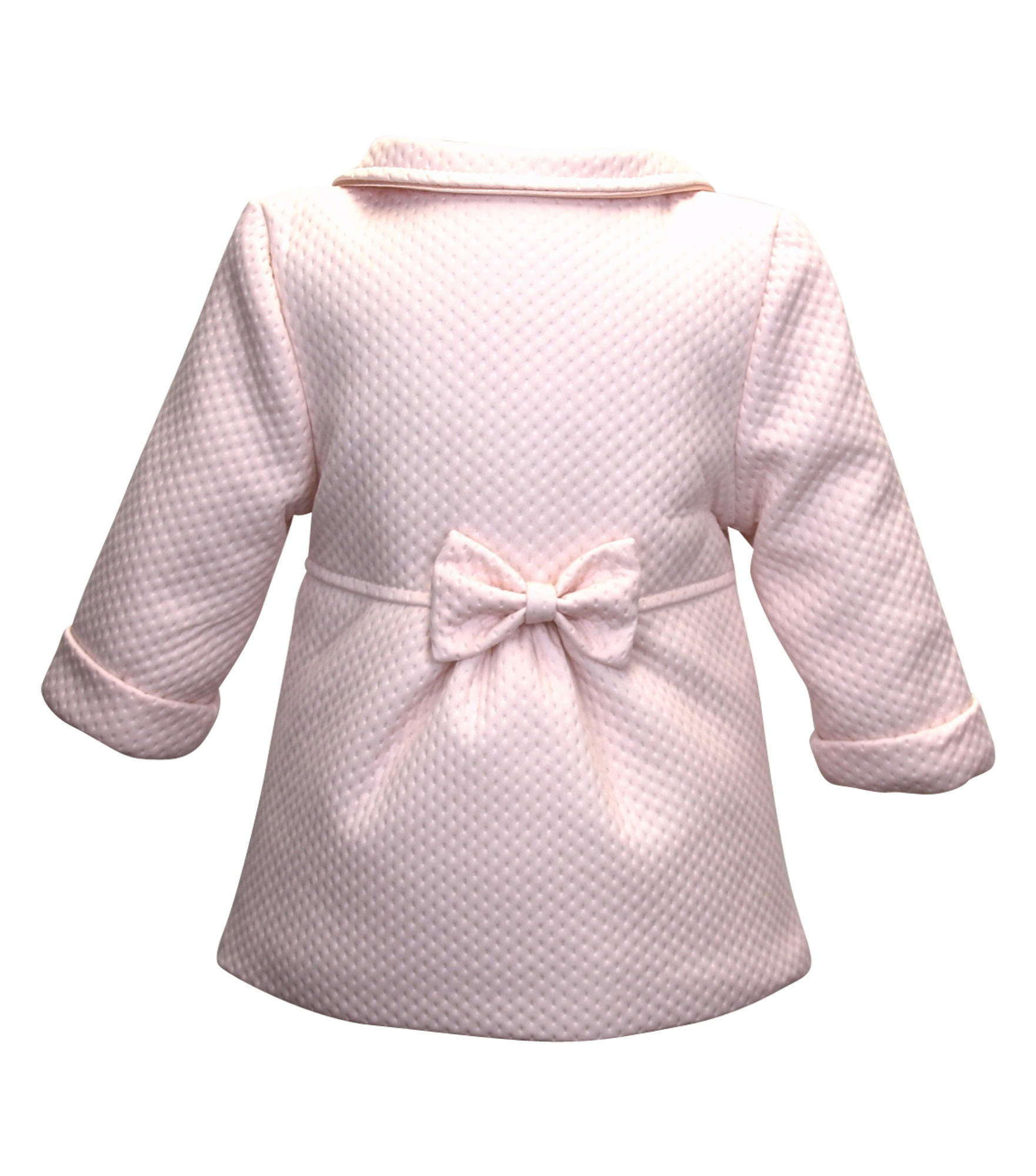 BIMARO Baby Mädchen Babymantel Lea rosa rose Taufmantel Mantel Jacke Baby  Hochzeit Taufe festlich – Bild 6fba00ef1a