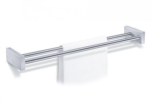 ZACK Edelstahl Doppel Handtuchhalter Handtuchstange Ausstellungsstück 40144